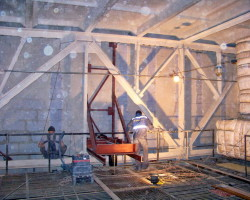 Усиление крупноблочных конструкций