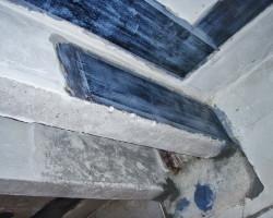 Усиление балок и плит перекрытий