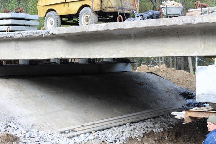Усиление дорожного сооружения