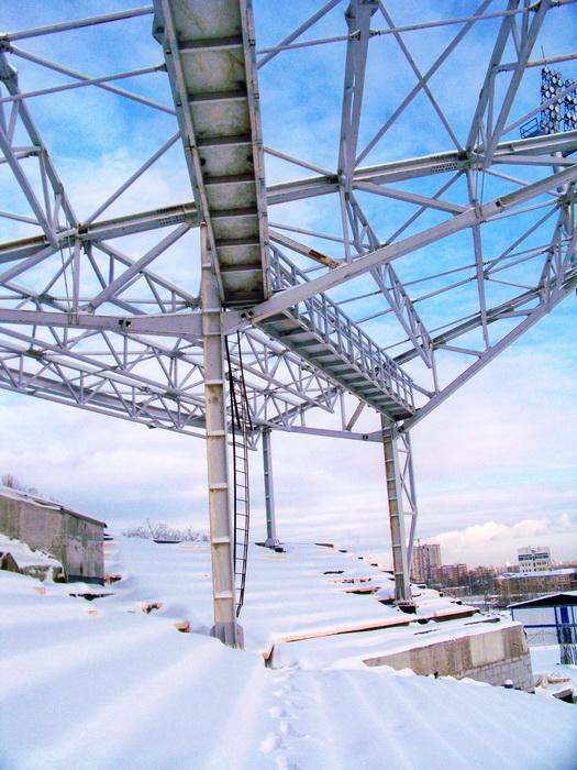 Усиление фундамента стадиона