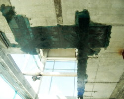 Усиление конструкций под устройство проемов