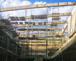 Усиление деревянных конструкций