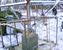 Восстановление и усиление фундаментов опор ЛЭП