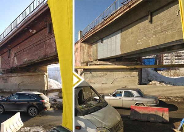 Усиление железнодорожного моста