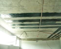 Усиление плит перекрытий