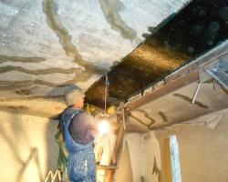 Восстановление и усиление плит перекрытий